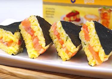 Salmon Sushi Sandwich